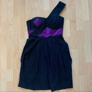 New Max and Cleo One Shoulder Dress